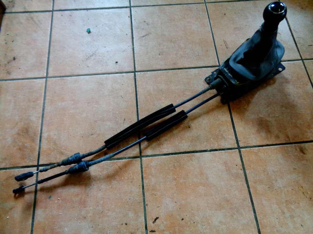 VW Polo 6N Bj:1997 Schaltknauf Schaltkulisse Schalthebel 6N0711266 / 6N0711265