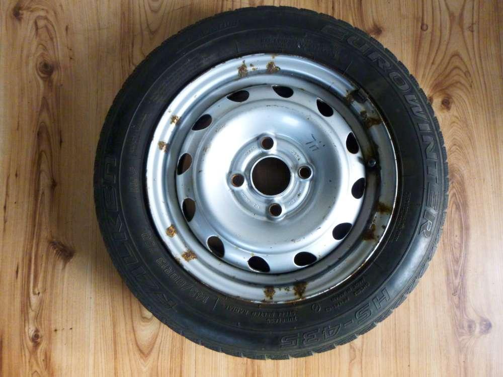 1 x Sommerreifen Stahlfelgen Opel Corsa B 145/80 R13 75Q  5Jx13 H2 ET 49  4 Loch
