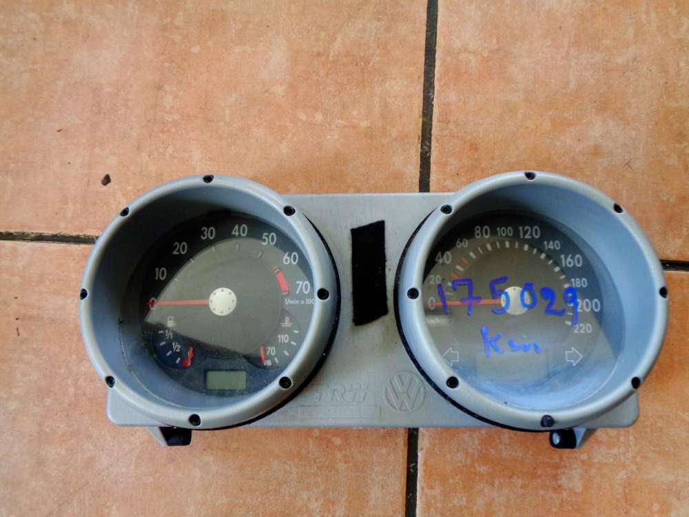 VW Polo 6N Bj:2000 Tacho Kombiinstrument Tachometer 175029 km 6N0920804D