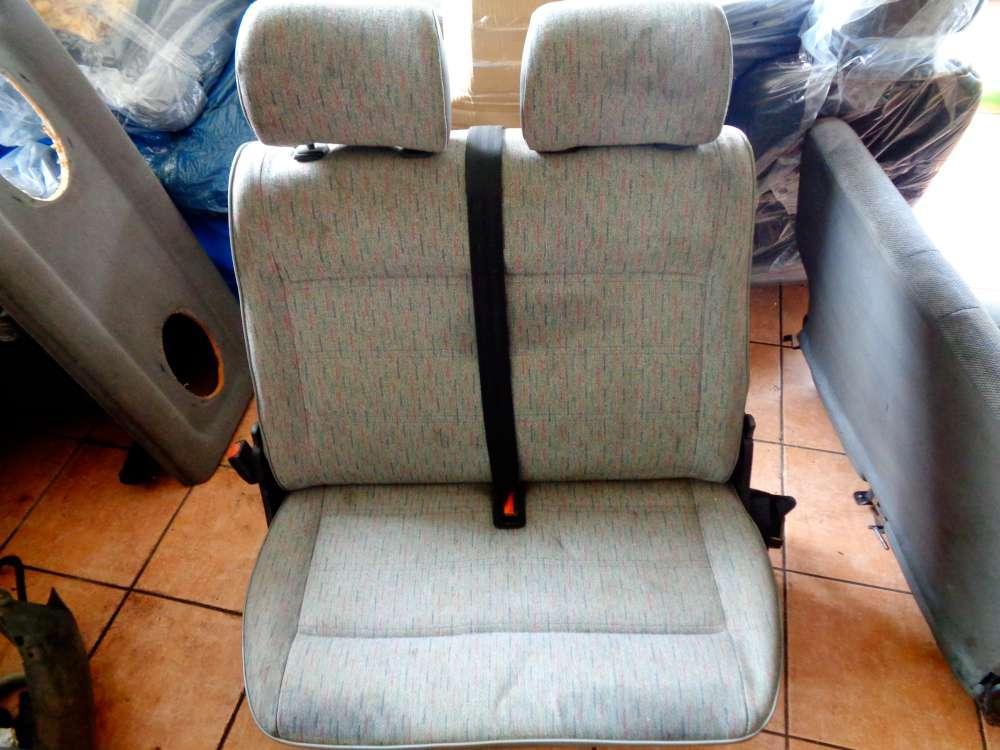 VW T4 Transporter Sitz Sitzbank Doppelbank Beifahrersitzbank Beifahrersitz