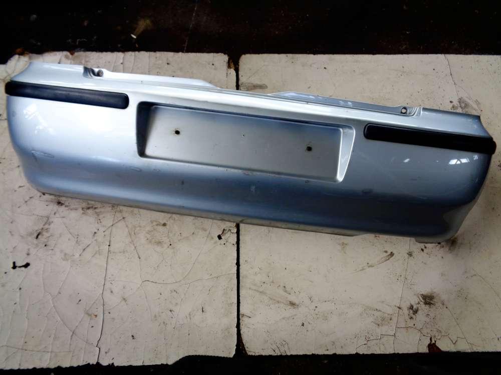 VW Polo 6N2 Bj:2000 Stoßstange Hinten Heckschürze 6N0807421E Farbe:Silber LA7W