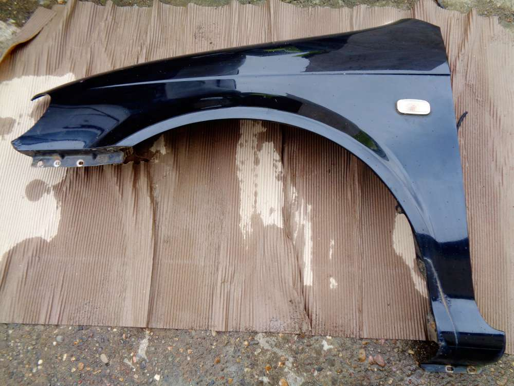 KIA Carnival Bj:2005 2,9 CRDI Kotflügel Vorne Links Farbe: 9P Midenight Black