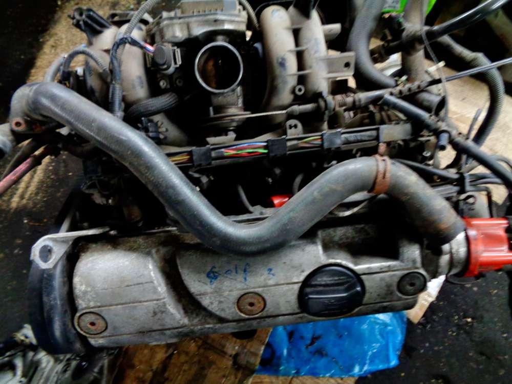 VW Golf 3 Bj:1995 Motor 1,6L Benzin, 55 KW, PS 75 032109145K / 030905205AB