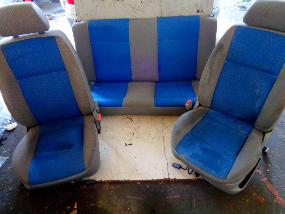 VW Polo 6N2 Bj:2000 3 Türer Komplettset Sitze