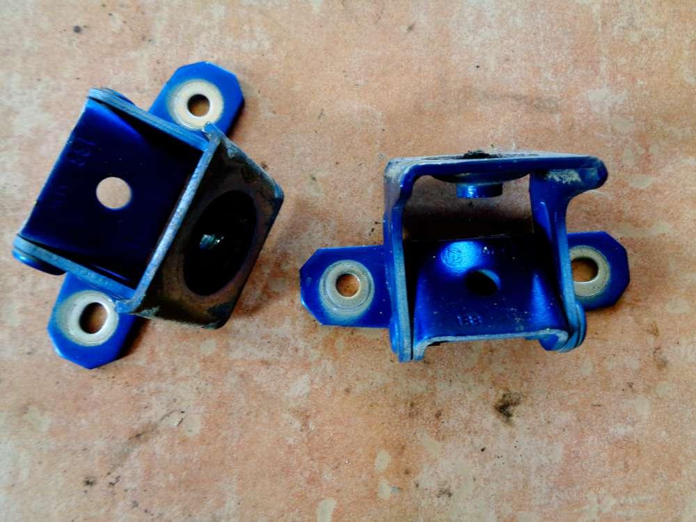 Fiat Idea Bj 2008 Heckklappenscharnier Heckklappe Scharnieren Blau Lackcode: 599