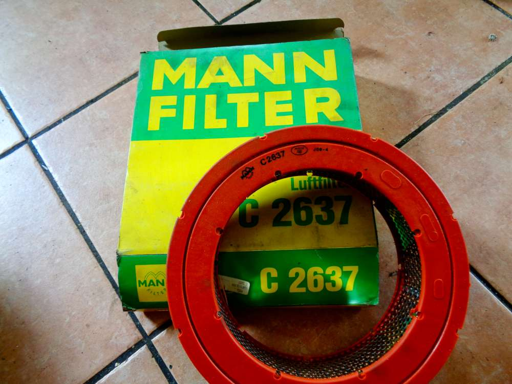 MANN-FILTER Luftfilter Motor Filter C 2637