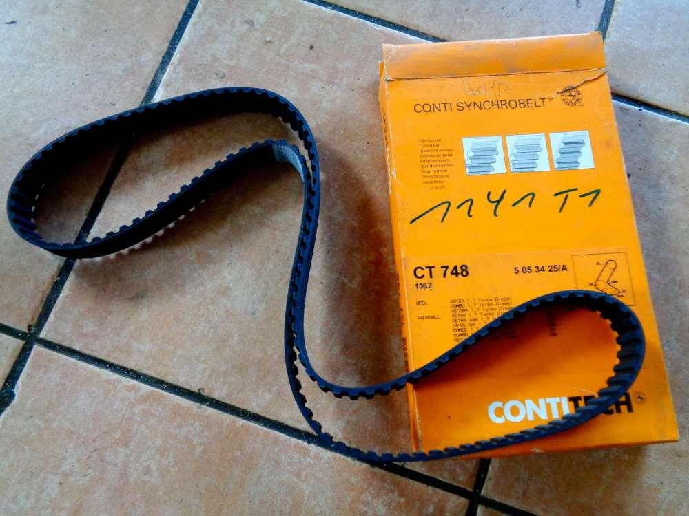 CONTITECH Zahnriemensatz Für Opel CT748 136Z