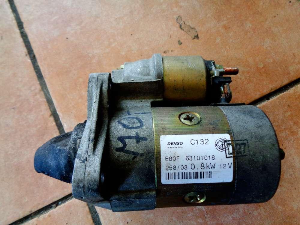Fiat Punto 188 Anlasser Starter Denso 12V 63101018