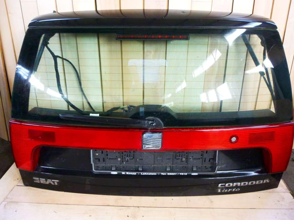 Seat Cordoba 6K2 bis 1999 Heckklappe Kofferraumklappe Farbe : Schwarz LC9Z
