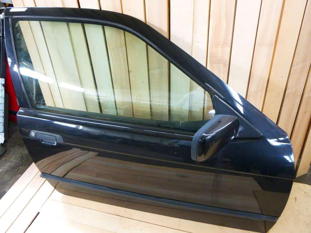BMW 316i 3er 3-türig Compact Tür vorne Rechts Cosmosschwarz metallic 303/9