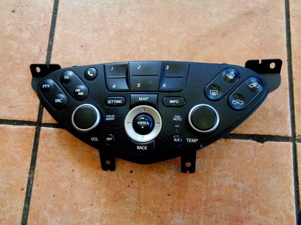 Nissan Primera P12 Kombi Bj:03 Klima Radio Bedieneinheit Klimabedienteil 28395AV610