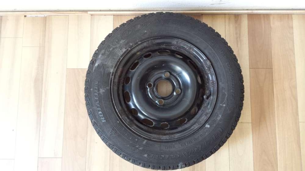 1x Winterreife Stahlfelge für Opel Corsa C 5Jx13 ET:43 155/80 R13 79Q  4Loch M+S