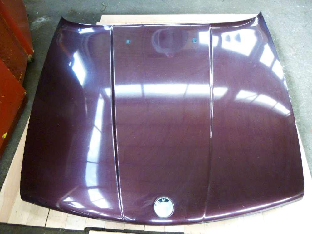 BMW E34 5er Bj;1992  Motorhaube Brokat rot  Metallic 259/3