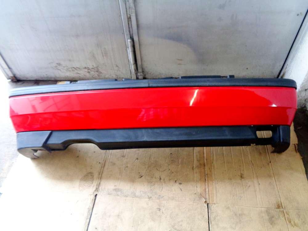 VW Golf 3 ab 1991 bis 1997 Stoßstange Hinten Rot