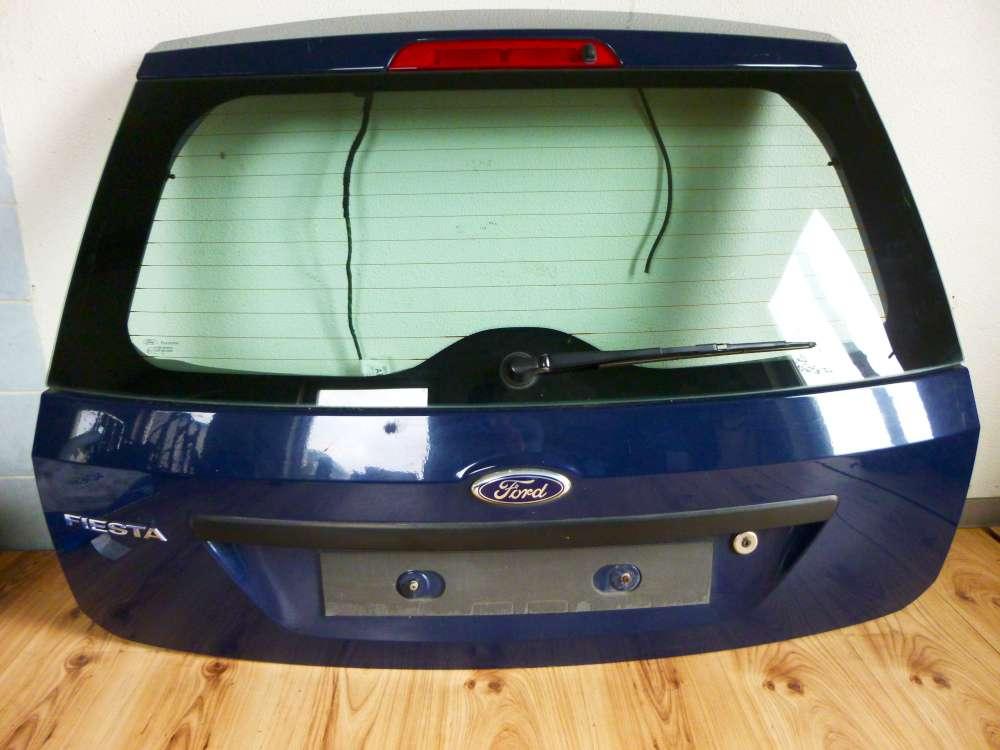 Ford Fiesta ab 2002 bis 2006 Heckklappe Hecktür Klappe Blau dunkel Blau