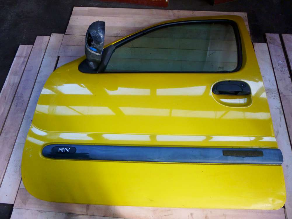 Renault Kangoo 5-türen Bj 2001 Fahrertür Tür vorne Links Farbe: Gelb