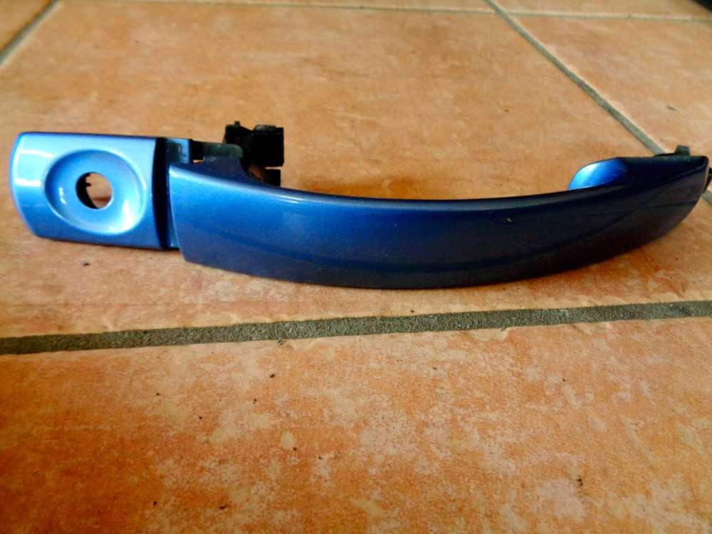 Ford Mondeo III Kombi BWY Bj:2000 Türgriff außen Vorne Links Farbe: Karibikblau