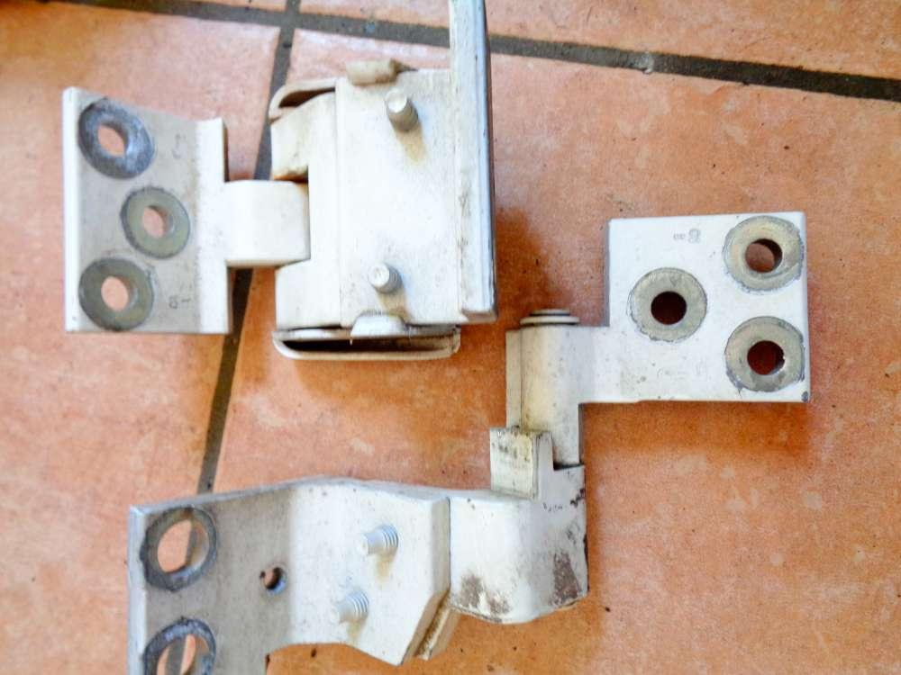 Peugeot Partner Bj 2001 Türscharniere Heckflügeltür Tür Rechts Farbe: Weiß