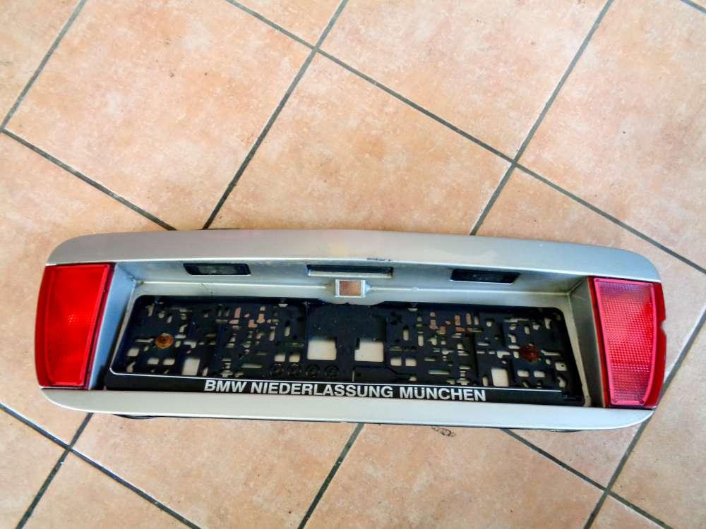 Nissan Primera P12 Bj:03 Heckblende Blende Kennzeichenausschnitt 90810AU400 Grau Farbcode: KLO