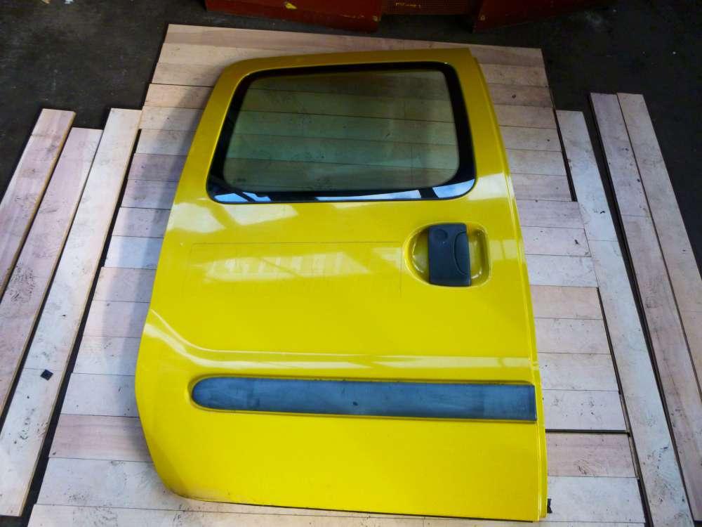 Renault Kangoo -Schiebetür-Tür hinten/rechts gelb
