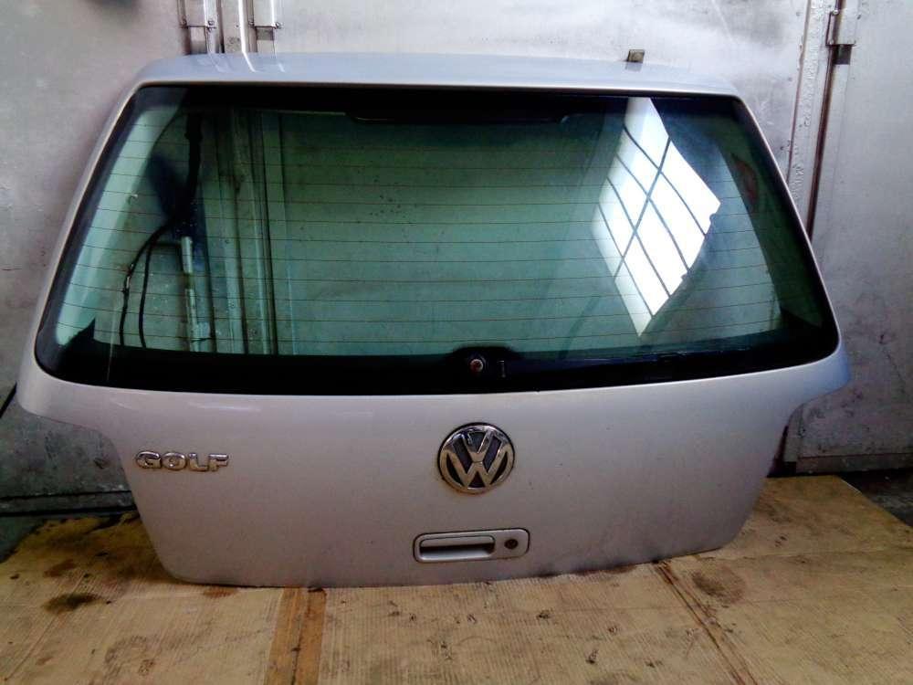 VW Golf 4 Bj:2000  3 Türer Heckklappe Hinten Silber Farbcode: LB7Z