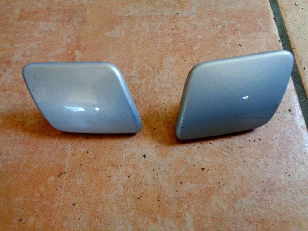 VW Golf 4 Bj:2000 Kappen Für Stoßstange Vorne Silber 1J0955109A 1J0955110A