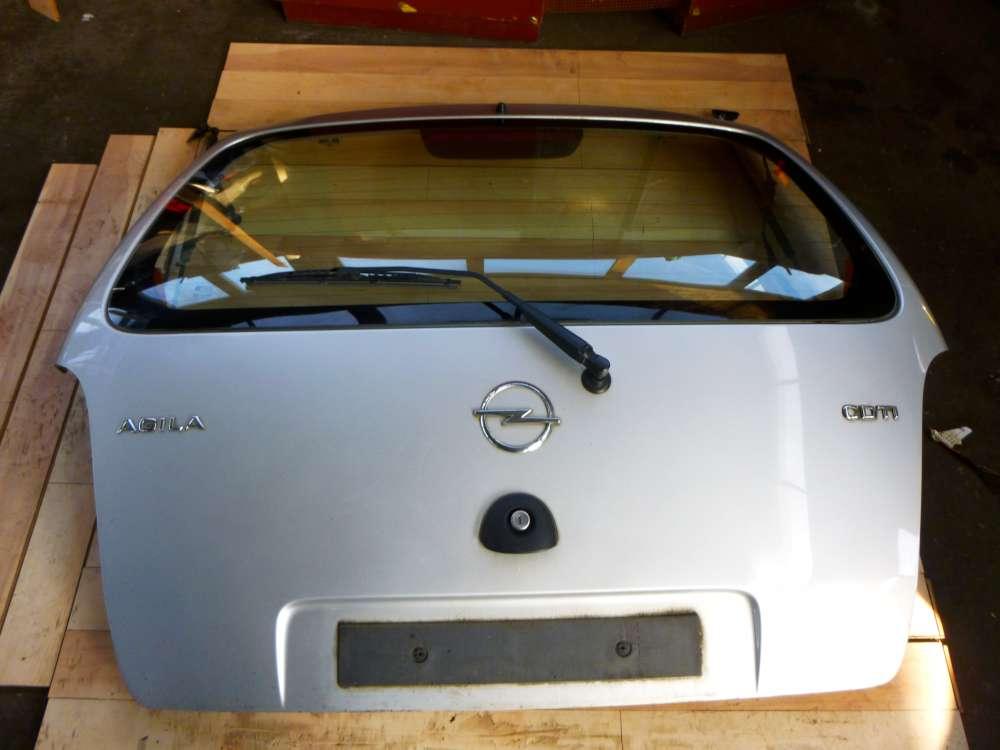 Opel Agila A Bj 2004 Original Heckklappe Farbcode: Z157