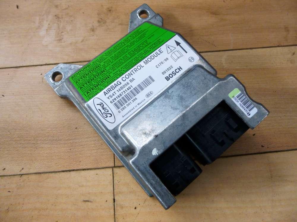 Ford Focus I 01-04 Airbag SG ECU Steuergerät YS4T-14B056-BA 0285001396