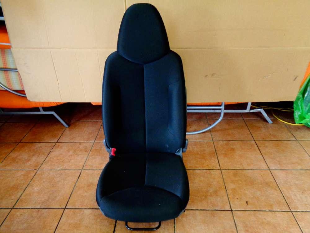 Toyota Aygo Bj:2009 3 Türer Sitz Fahrersitz Vorne Links Stoff Schwarz