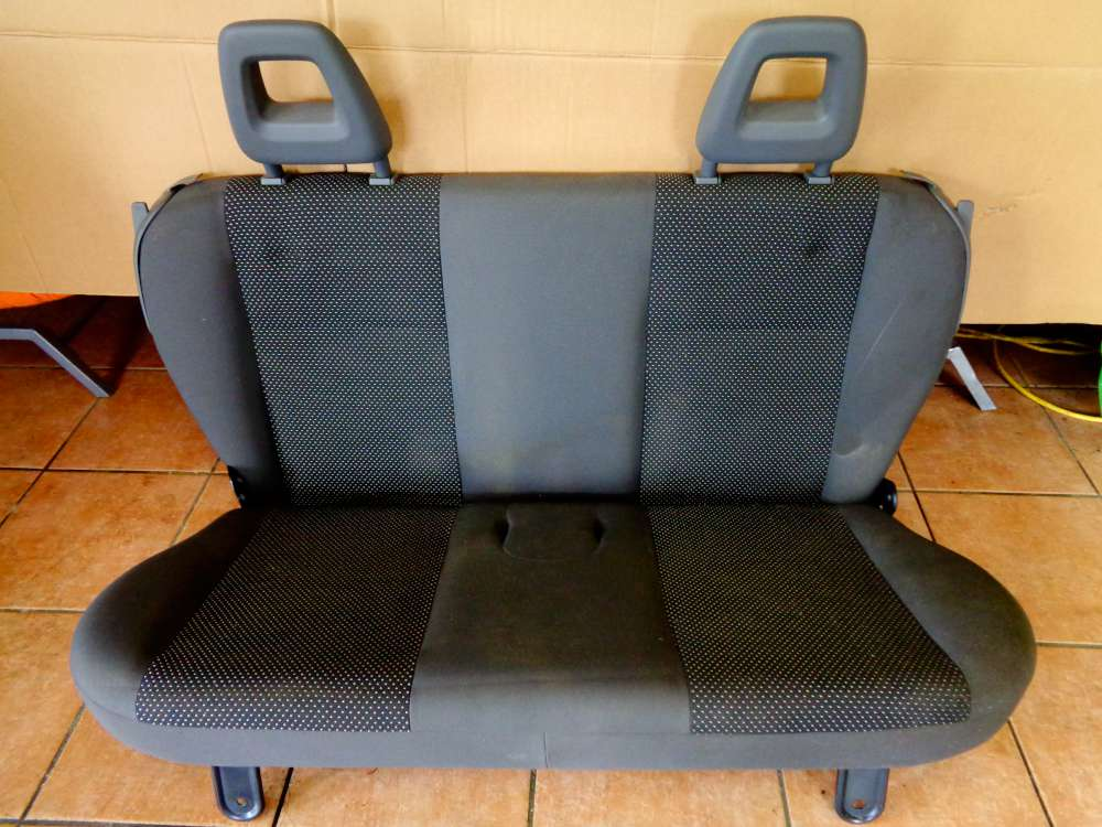Fiat Panda 169 Bj:2007 5 Türer Rücksitz Rücksitzbank Stoff Sitze
