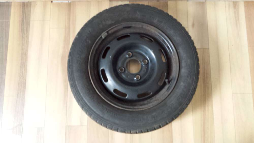 1x Winterreifen Stahlfelgen für Renault  4.5Jx13 ET:36 155/70 R13 75Q M+S 4 Loch