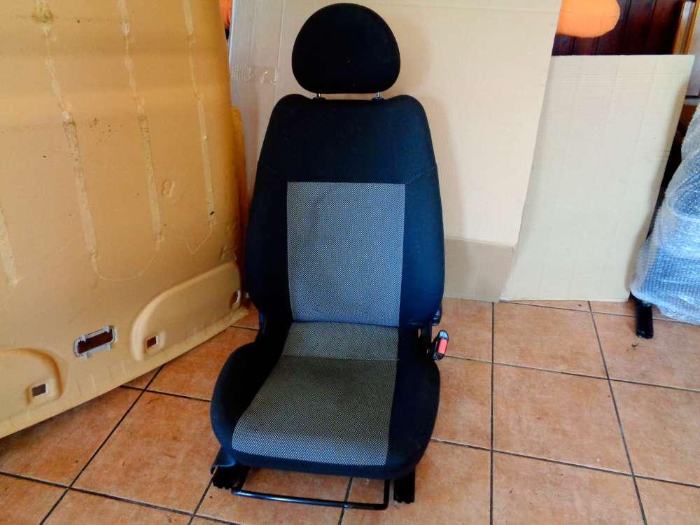 Opel Corsa C Sitze Beifahrersitz Vorne Rechts Stoff Grau
