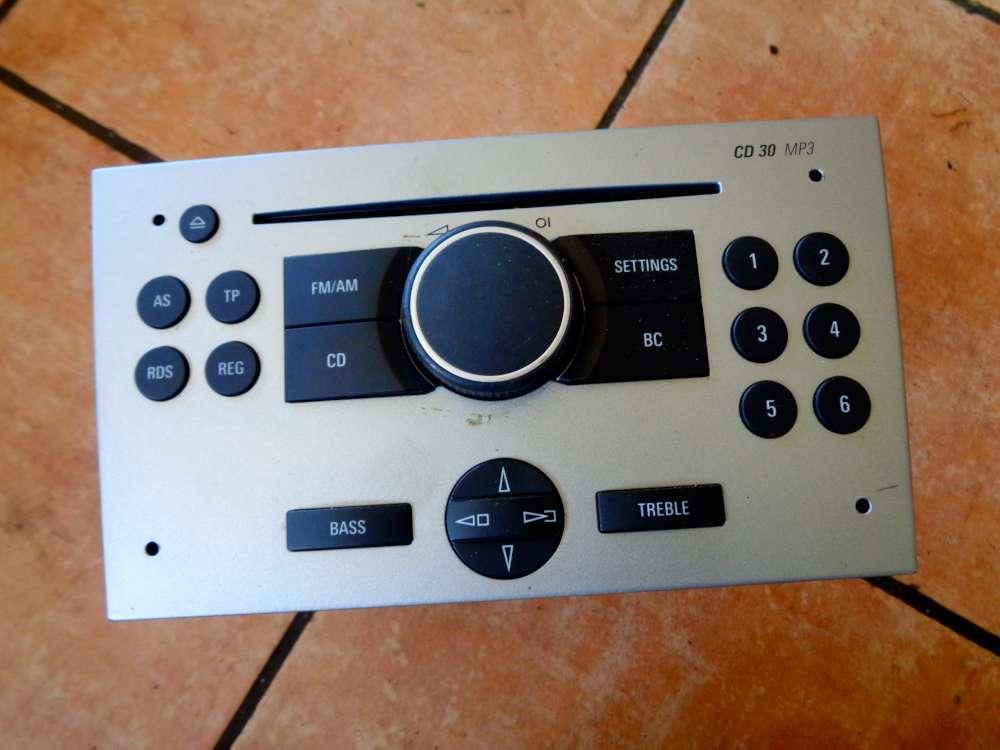 Opel Corsa C Bj:2010 Blaupunkt Radio mit CD MP3 13188892