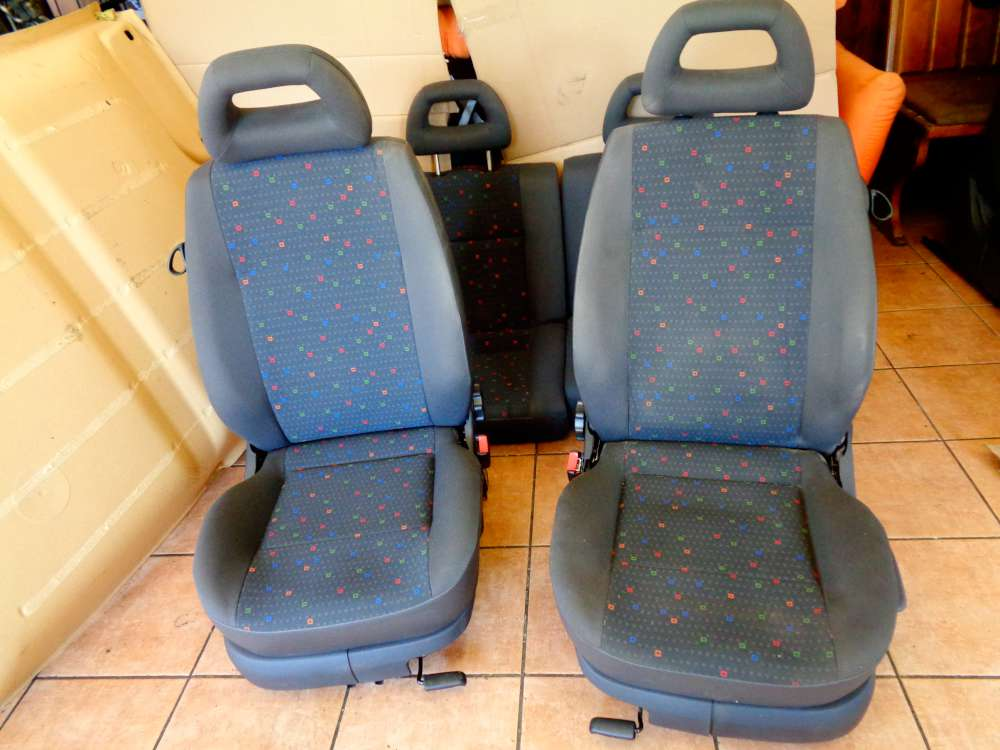 Seat Arosa 6H Bj:2000 3 Türer Komplett sitze Stoff