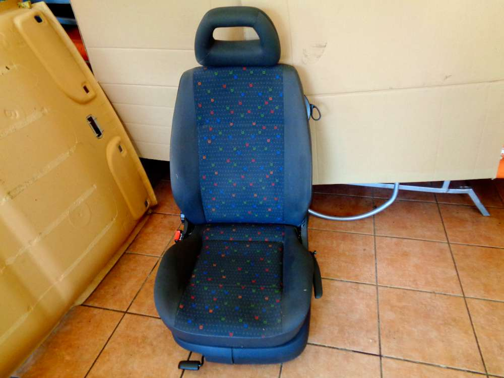 Seat Arosa 6H Bj:2000 3 Türer Fahrersitz sitze Vorne Links Stoff