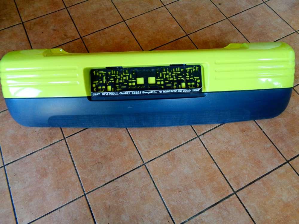 Seat Arosa 6H Bj:2000 3 Türer Stoßstange Hinten Gelb L51E