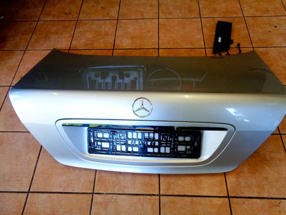 Mercedes Benz S-Klasse W220 S 320 Bj:03 Heckklappe Kofferraumdeckel mit Steuergerät Elektrische Leitungen A2208201317 Silber Farbcode: C744