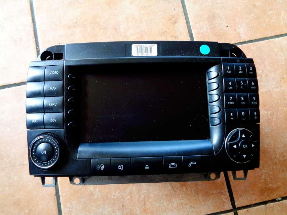 Mercedes Benz S-Klasse W220 Bj:03 Comand Radio Navi A220827414280-000