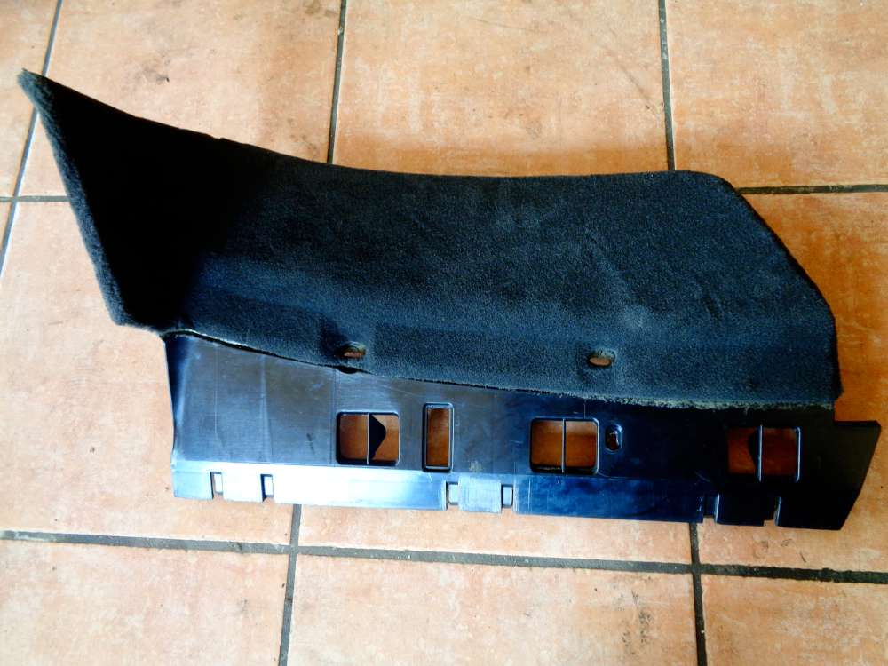 Mercedes SKlasse W220 Verkleidung Teppich Fussraum unten