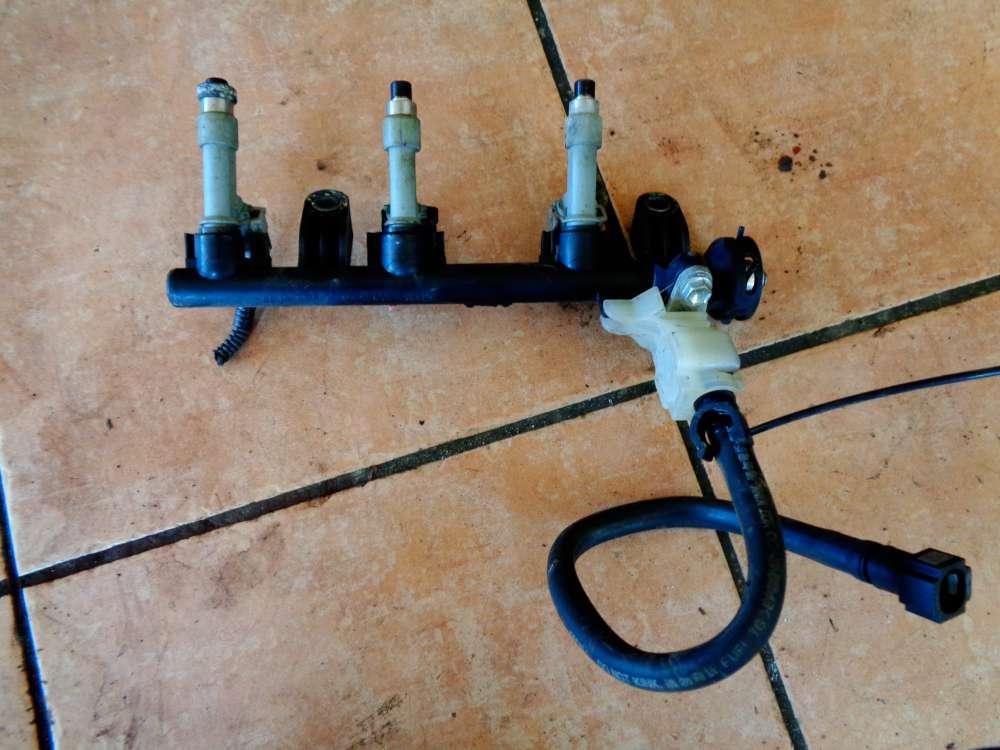 Toyota Aygo 1.0 GPL Bj:09 Einspritzleiste 23814-0Q010-A