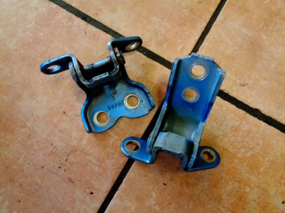 Peugeot 107 Bj:2008 Türscharnier Türscharnier Vorne Links Blau