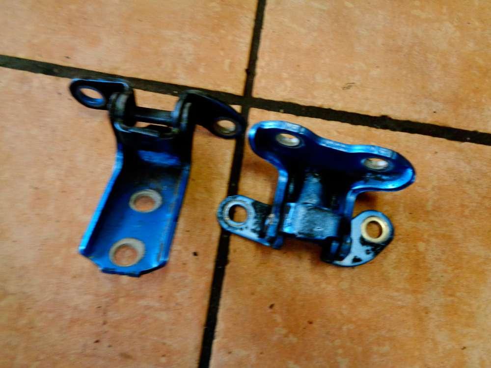 Peugeot 107 Bj:2008 Türscharnier Türscharnier Hinten Links Blau