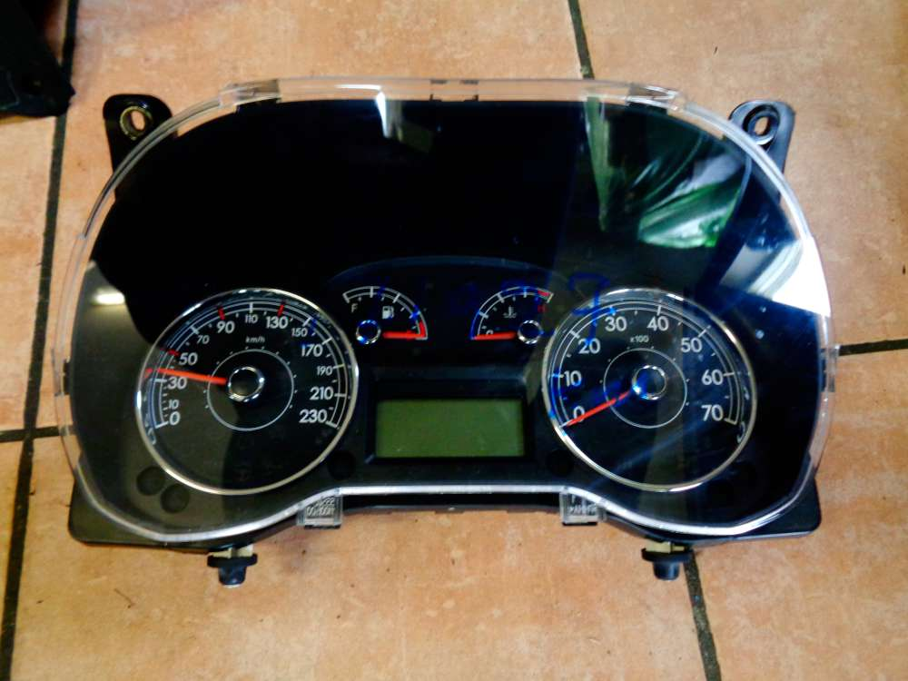 Fiat Punto 199 Bj:2008  Tacho Tachometer Kombiinstrument 71997 KM 51834166