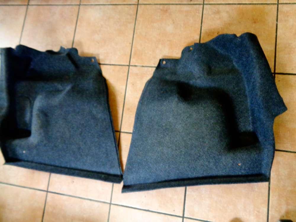 Fiat Punto 199 Bj:2008 Verkleidung Kofferraum Seite Teppich Hinten Re Li