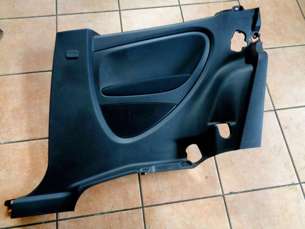 Fiat Punto 199 3 Türer Bj:2008 Verkleidung Seitenverkleidung Hinten Rechts