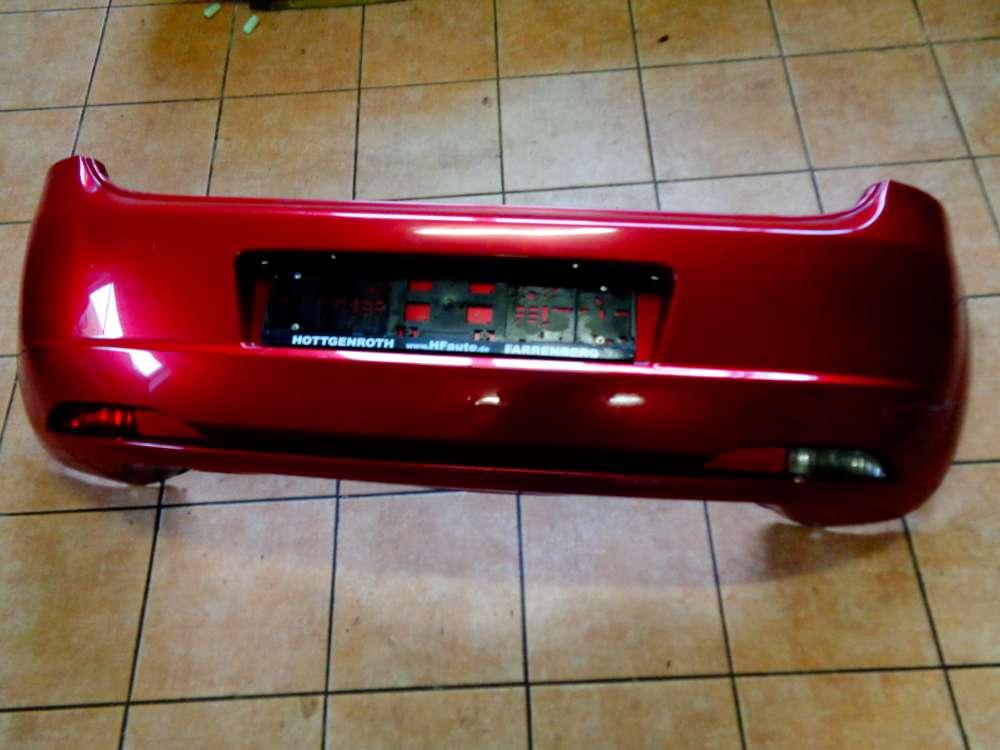 Fiat Punto 199 3 Türer Bj:2008 Stoßfänger Heckschürze Bumper Hinten Rot 735379735