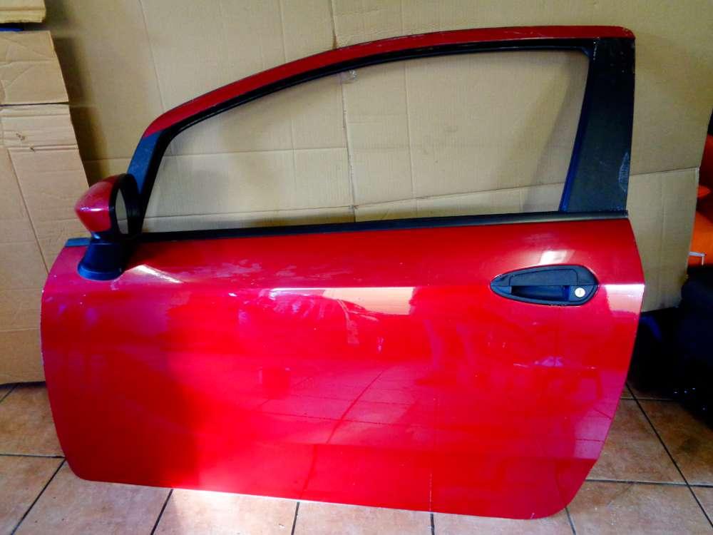 Fiat Punto 199 Bj:2008 3 Türer Tür Vorne Links Rot 153/A