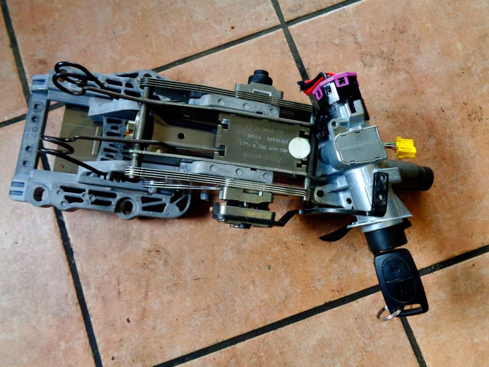 Audi A6 4B Bj:1998 Lenksäule mit Schlüssel 4B1419502A