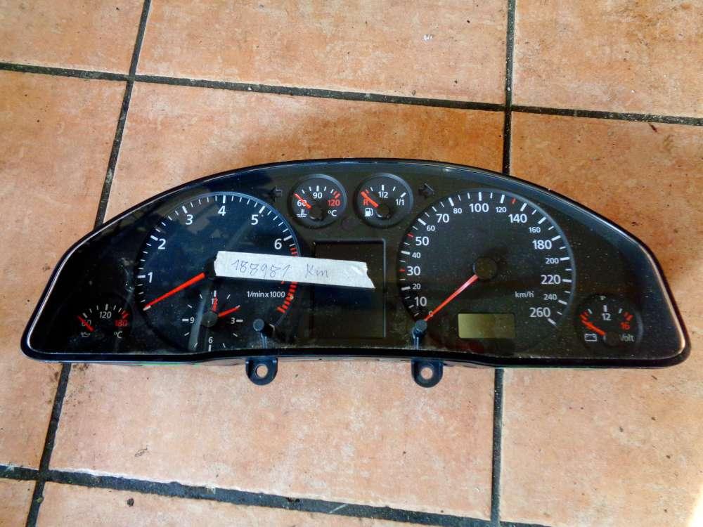 Audi A6 4B Bj:1998 Tacho Kombiinstrument 188981 KM 4B0919880A