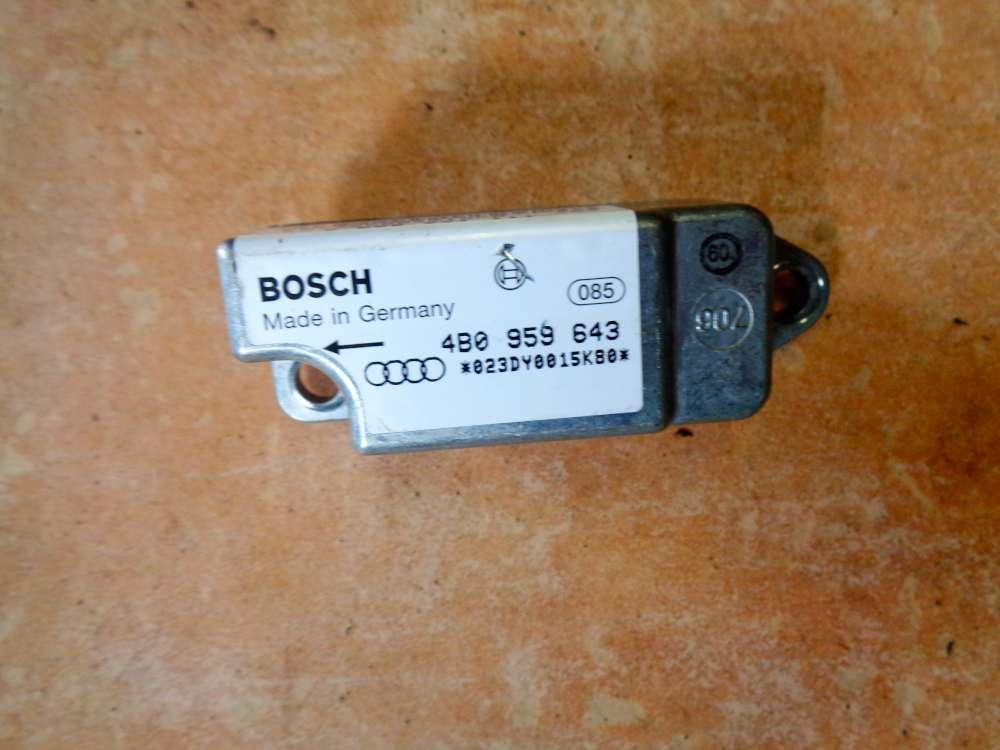 Audi A6 4B Bj:1998 Crashsensor Seitenaufprallsensor 4B0959643